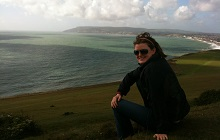 Emma at the Isle of Wight